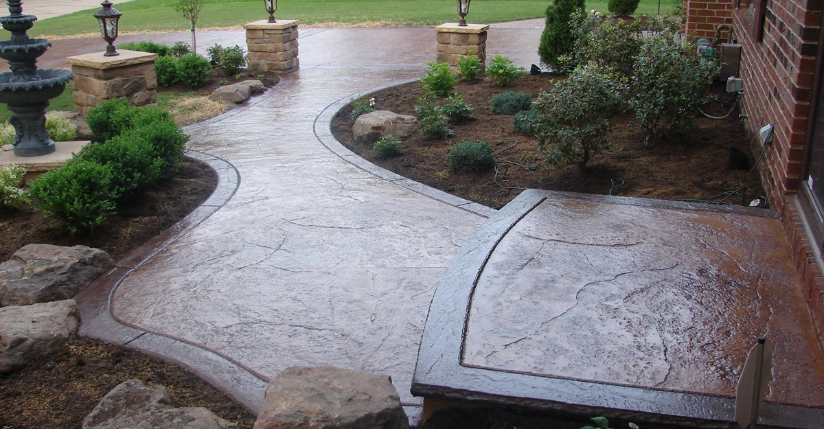 THE BEAUTY AND DURABILITY OF STAMPED CONCRETE